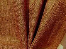 Mid Century Modern 50's 60's VINTAGE Upholstery Fabric TWEED Dark Brown Caramel