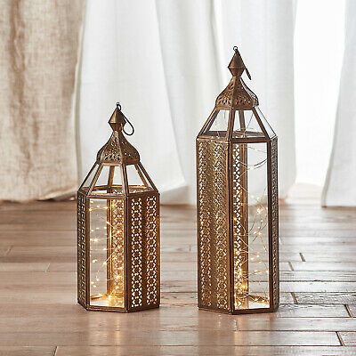 Large Moroccan Floor Candle Lantern, Large Moroccan Outdoor Lanterns Uk