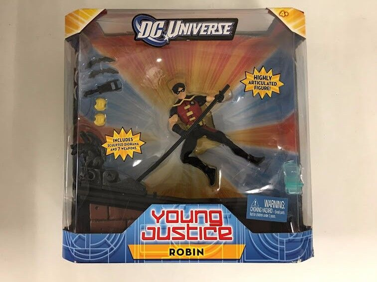 Young  Justice Robin DC Univers Mattel FACTORY SEALED  magasin d'usine de sortie