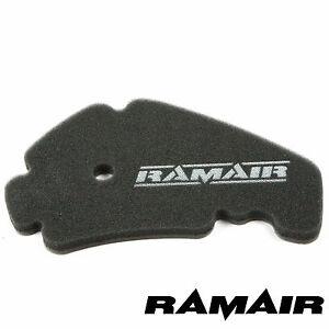 RAMAIR-Performance-Panel-Air-Filter-Race-Foam-Pad-Aprilia-Scarabeo-Light-250cc