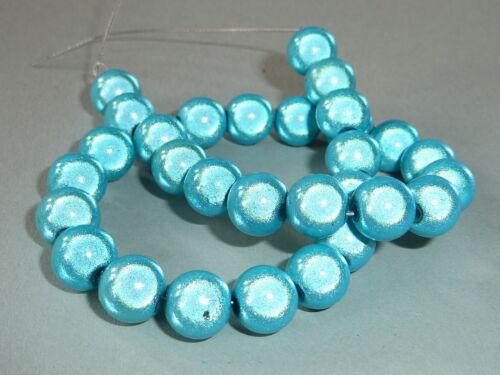 30 Miracle perlas 3d efecto acrílico perlas alrededor de 8 mm elección de color 2800