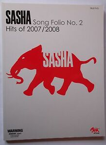 034-SASHA-SONG-FOLIO-NO-2-HITS-OF-2007-2008-034-TRUE-PVG-MUSIC-BOOK-9781863676311