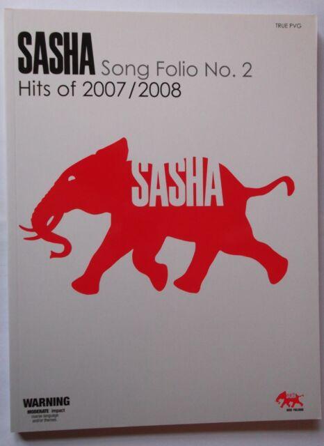 """SASHA SONG FOLIO NO 2 HITS OF 2007 2008""  TRUE PVG  MUSIC BOOK 9781863676311"