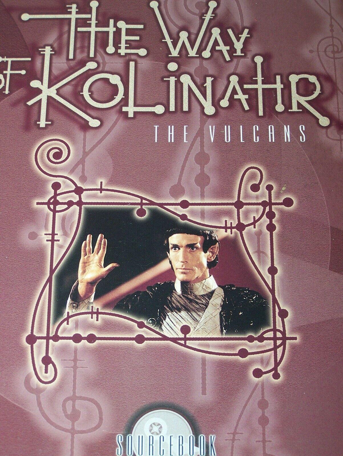 Star Trek cohete propulsado Granada últimos juegos de unicornio (5) forma de Kolinahr los vulcanos Core Juego + más
