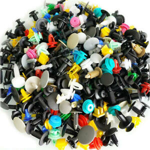500-Pcs-Mixed-Plastic-Auto-Car-Fastener-Clip-Bumper-Trim-Rivet-Door-Panel-Buckle