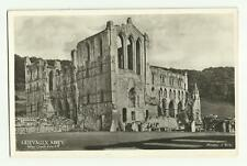 Rievaulx Abbey from South West old postcard