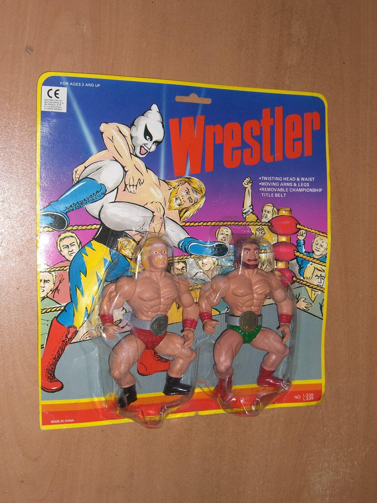 80'S VINTAGE WWF FIGURE WRESTLER CHAMPION MOC ULTRA RARE MOTU KO SGI 4