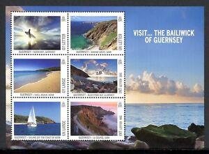 Guernsey-MiNr-Block-60-postfrisch-MNH-Landschaften-RS1567