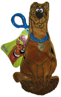 "** R@RE ** Lots of 12 ** Scooby-Doo 8/"" Plush Key-Chain Clip-On Zipper BRAND NEW"