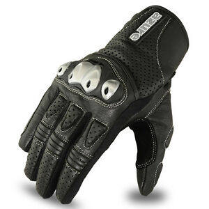 Motocross Gloves Leather Racing Off Road Enduro MotorBike TPU Knuckle BLK Large - London, United Kingdom - If you want to return this item for any reason please ring 07866283563 to arrange return. Return cost will be paid by buyer. Item must be in original packing and unused. Any used items will not be returned. - London, United Kingdom