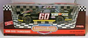 ERTL Diecast 1:18 Scale American Muscle Mark Martin #60 Winn Dixie Thunderbird