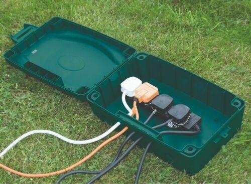 Masterplug Weatherproof Outdoor Electric Socket boîte de jonction Jardin IP54 Puissance