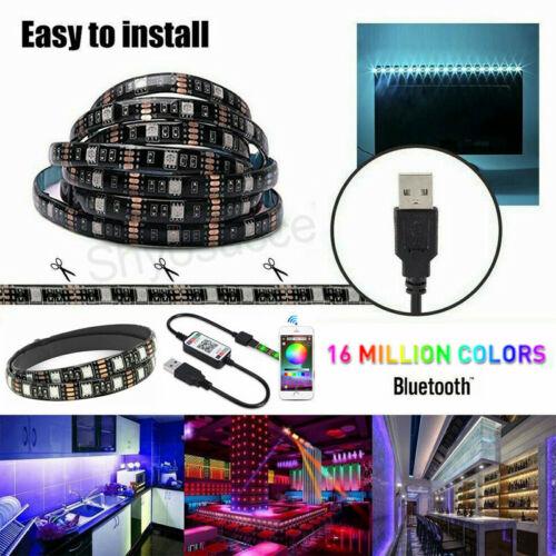 LED USB Backlight TV Hintergrund-Beleuchtung Licht-Band Stripes Streifen RGB 5V