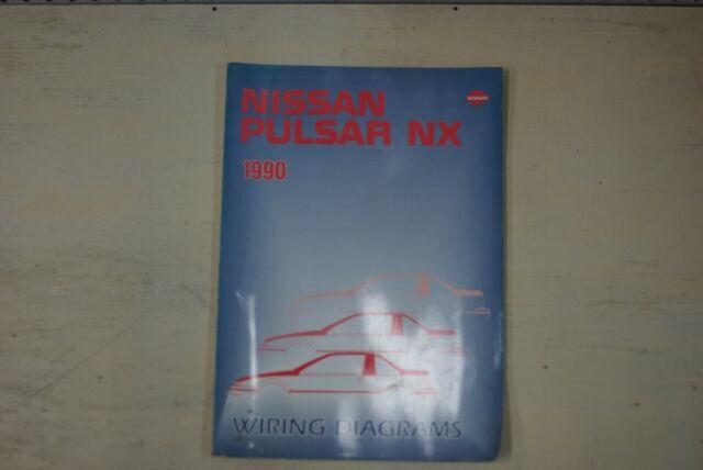 1990 Nissan Pulsar Nx Factory Shop Service Repair Wiring