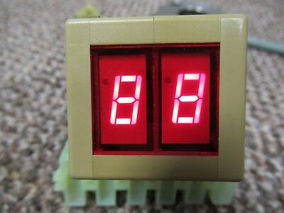 7 Segment LED Machine Fault Indicator # 86.361.5126.00 Multivac