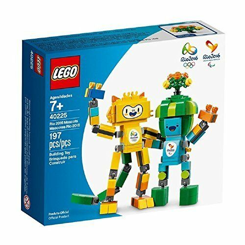 Lego 40225 Rio 2016 Mascots - 197 PC - 2016 OLYMPIC GAMES