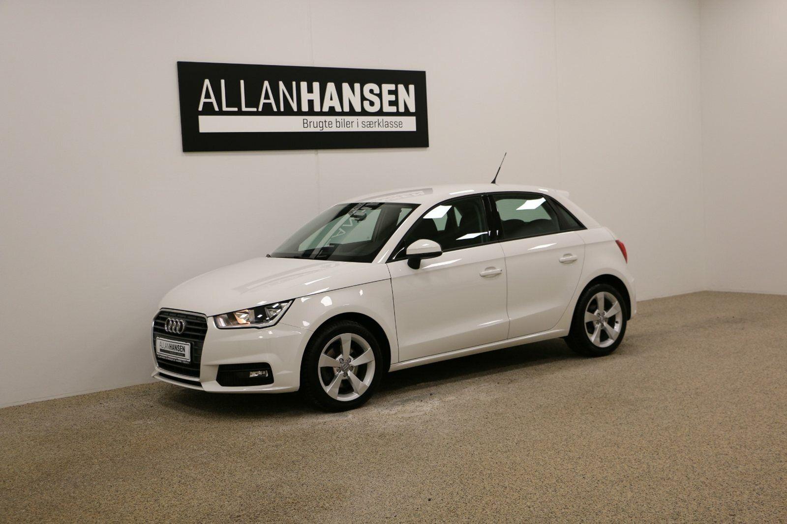 Audi A1 1,6 TDi 116 Sport SB 5d - 174.900 kr.