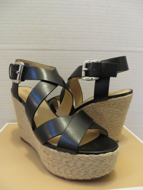 5cfba3d30ba MICHAEL KORS CELIA MID WEDGE 7.5M BRAND NEW WITH BOX RETAIL  140.00