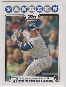 2008-Topps-Baseball-New-York-Yankees-Team-Set-23-cards