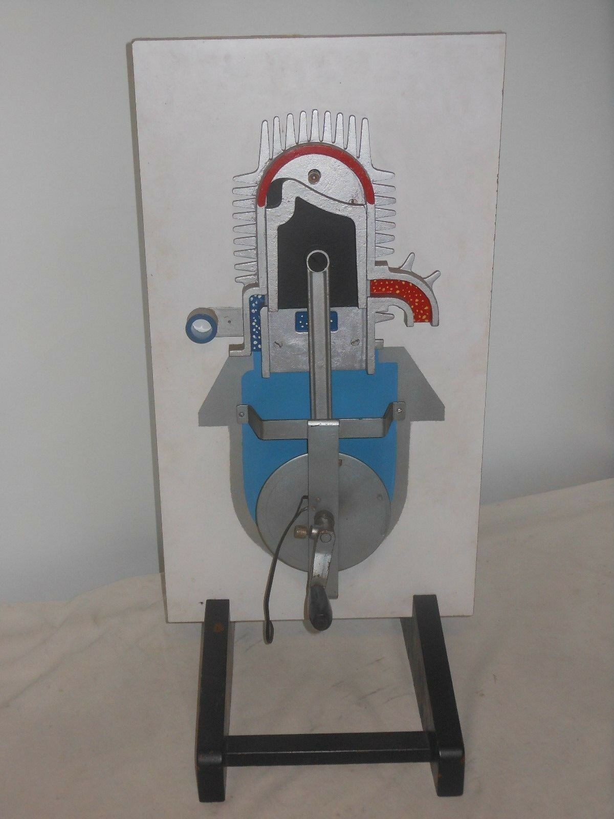 VINTAGE GRANDE di motore lehrmodell-di guida schulmodell-sezione Modello-altezza 67cm