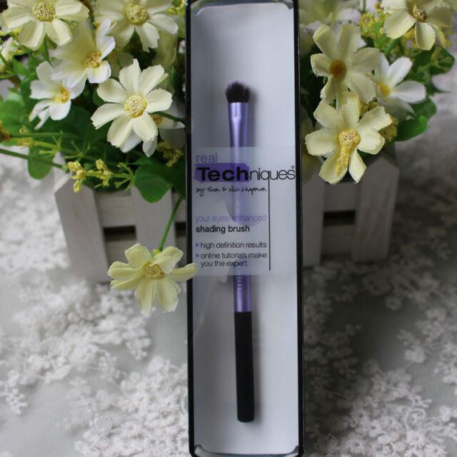 NEW Real Techniques Makeup Brushes Foundation Powder Blush Kabuki Style + Box
