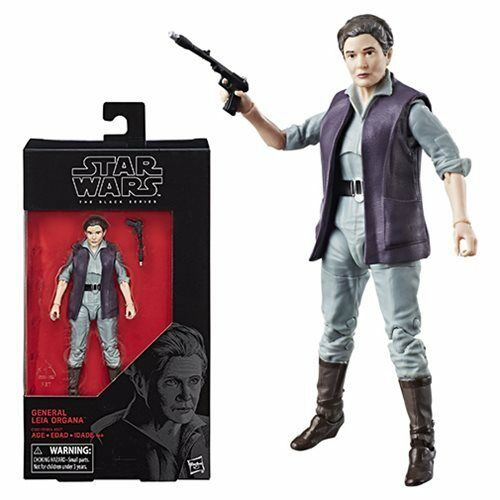 General Leia 6-Inch Action Figure Star Wars The Black Series Wave 13