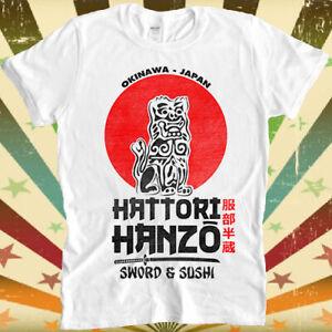 Hattori Hanzo Kill Bill Retro Vintage Gift Gogo Yubari Sword Sushi T Shirt 3091