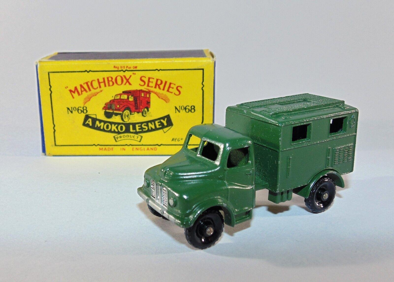 Matchbox Moko Lesney Modelo No.68a  Austin  Radio Camión Mk11