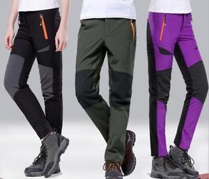Mens-Warmed-Ski-Pants-Windproof-Waterproof-Snowboarding-HikingTrousers-Gift