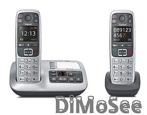 Gigaset-E560A-m-AB-inkl-2-Mobilteil-E560H-Duo-Grosstastentelefon