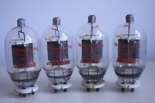 QUAD (4x) WESTERN ELECTRIC 719A VINTAGE HALF WAVE RECTIFIER TUBES