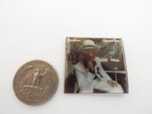 Greatest Hits /' record album Dollhouse 1:12 scale 1 Miniature  /'ELTON JOHN
