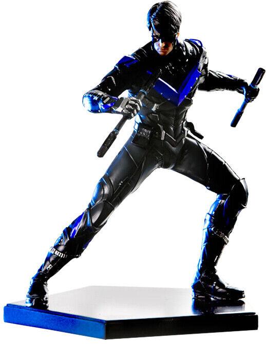 BATMAN  Arkham Knight - Nightwing 1 10th Art Scale Statue (Iron Studios)  NEW