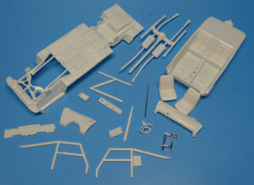 1//25 Dukes of Hazzard Interior//Frame//Chassis Set MPC 1969 Dodge Charger R//T