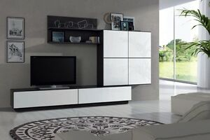 clearance gabriella tv unit living room furniture set media wall