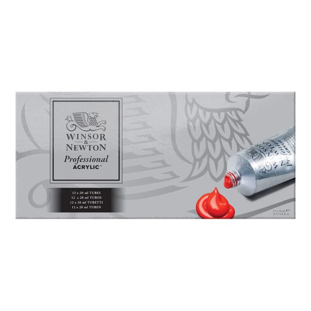Winsor & Newton Professional Acrylic Paint Starter Set 12x20ml