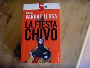 Occasion - Livre La Fiesta Del Chivo ,mario Vargas Llosa