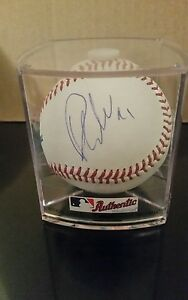 PHIL KESSEL PITTSBURGH PENGUINS SIGNED MLB BASEBALL AUTO