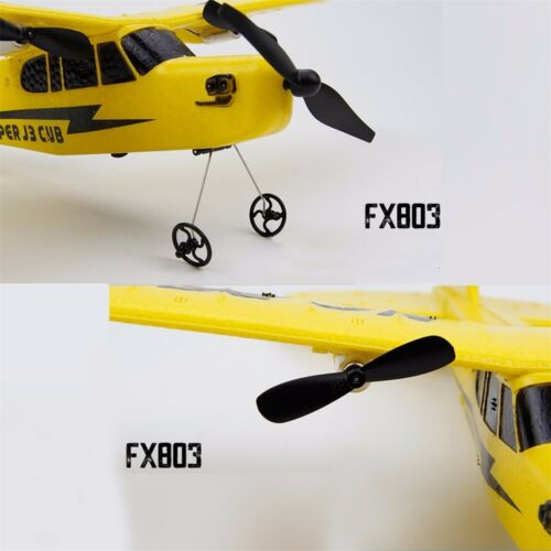 FX803 Mini 2.4G RC Airplane Plane Helicopter 2CH Fixed Wing Aeroplane Glider Toy