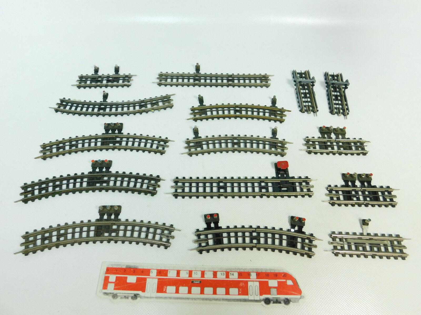 Bq188-0,5 x Trix Express Pappschwelle H0   Dc Voie de Séparation, Butoir Etc,