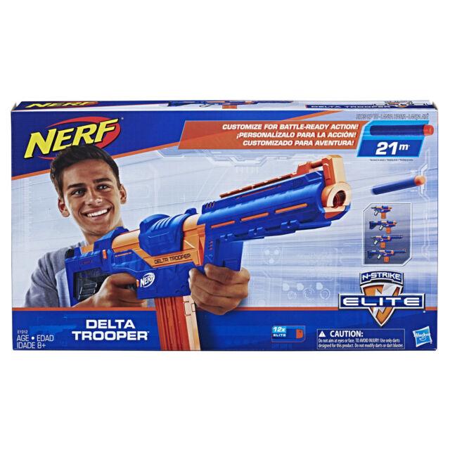 Brand New NERF Elite DELTA TROOPER Dart Blaster