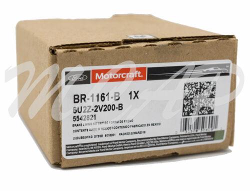 Motorcraft Rear Brake Pads BR1161B 2009 Ford Fusion 3.0L V6 17D1161CH Z231161
