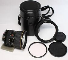 Very good++ Tokina AT-X 24-40mm F/2.8 MF Lens for Olympus OM w/ Case and Hood