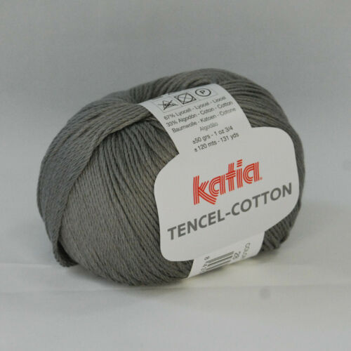 TENCEL-COTTON von Katia 50g Wolle Farbauswahl