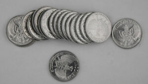 (119) Stück Indonesien 1961 50 Sen Münze Gem Bu Km #