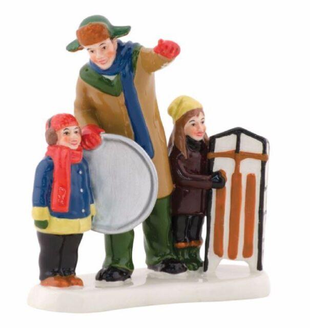 department 56 christmas vacation bingo clark sledding figurine 4042410 new