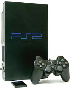 Sony-PlayStation-2-Console-Fat-SCPH-39001-PS2-Controller-Cables-Memory-Card