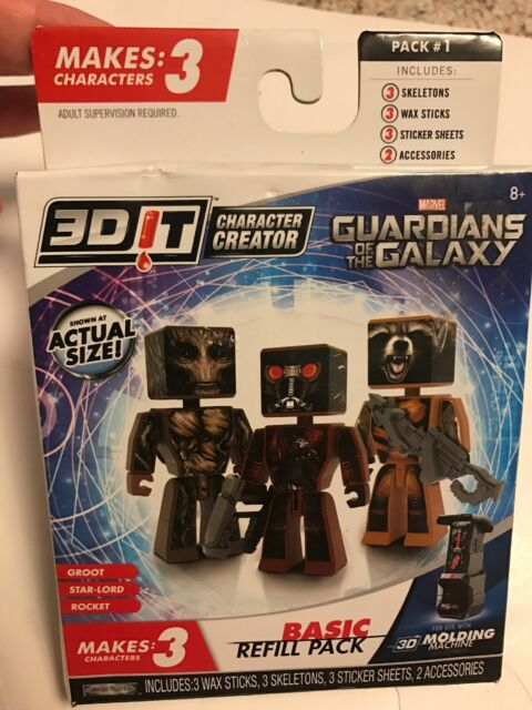3d Character Creator Guardians of The Galaxy