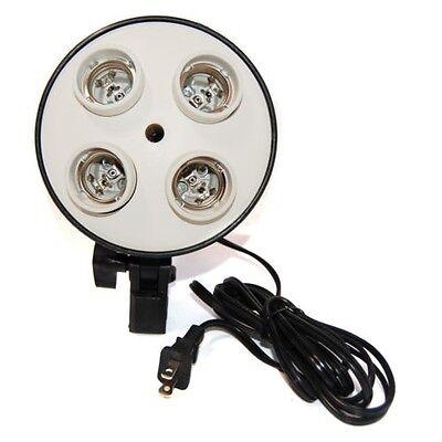 Photo Video Studio Light Lamp Bulb Holder E27 4X Socket