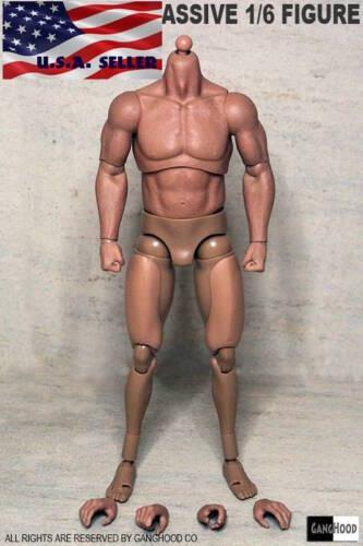 Ganghood 1//6 Scale Muscular Body VERSION 1.0 pour Hot Toys Bane Head USA